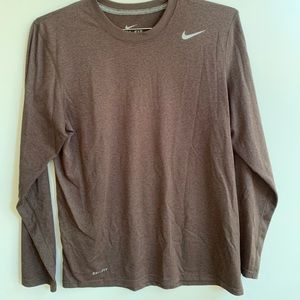 Nike Men's Dri fit Running Long Sleeve Shirt